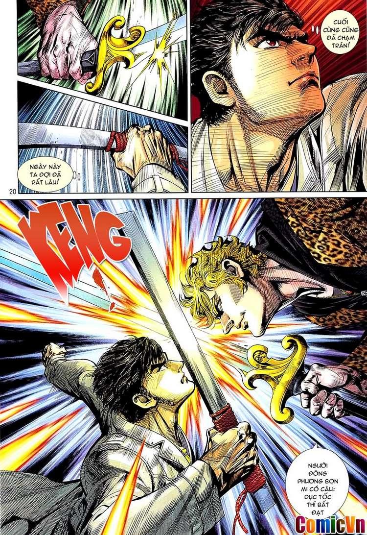 Kungfu (Công Phu) chap 34 - Trang 20