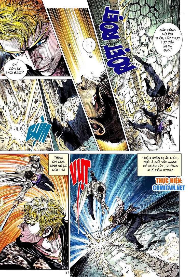 Kungfu (Công Phu) chap 34 - Trang 21