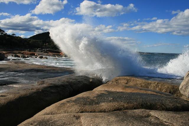 Blow hole Bicheno Tasmania, Australia - © CKoenig
