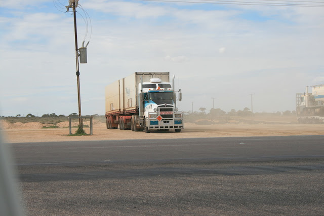 Explosive Road Train Nullarbor South Australia - © CKoenig