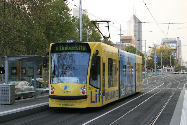 Tram Melbourne Victoria, Australia - © CKoenig
