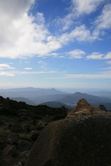 View Mt Wellington Hobart Tasmania Australia - © CKoenig