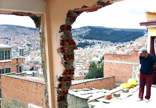 Desastres naturales en Bolivia