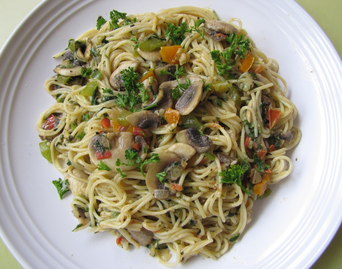 Super Yummy Recipes Angel Hair Pasta With Veggies