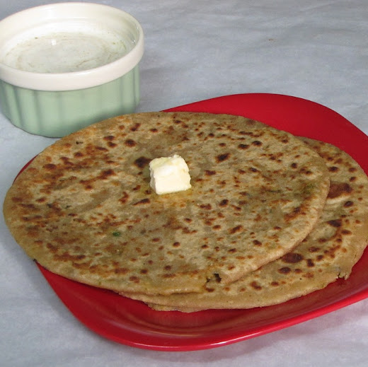 Stuffed paratha are always special for breakfast or dinner Mixed Vegetable Paratha