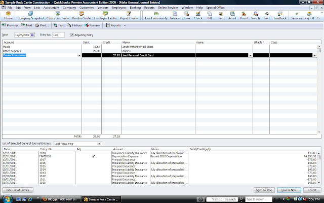 quickbooks how to create expense account