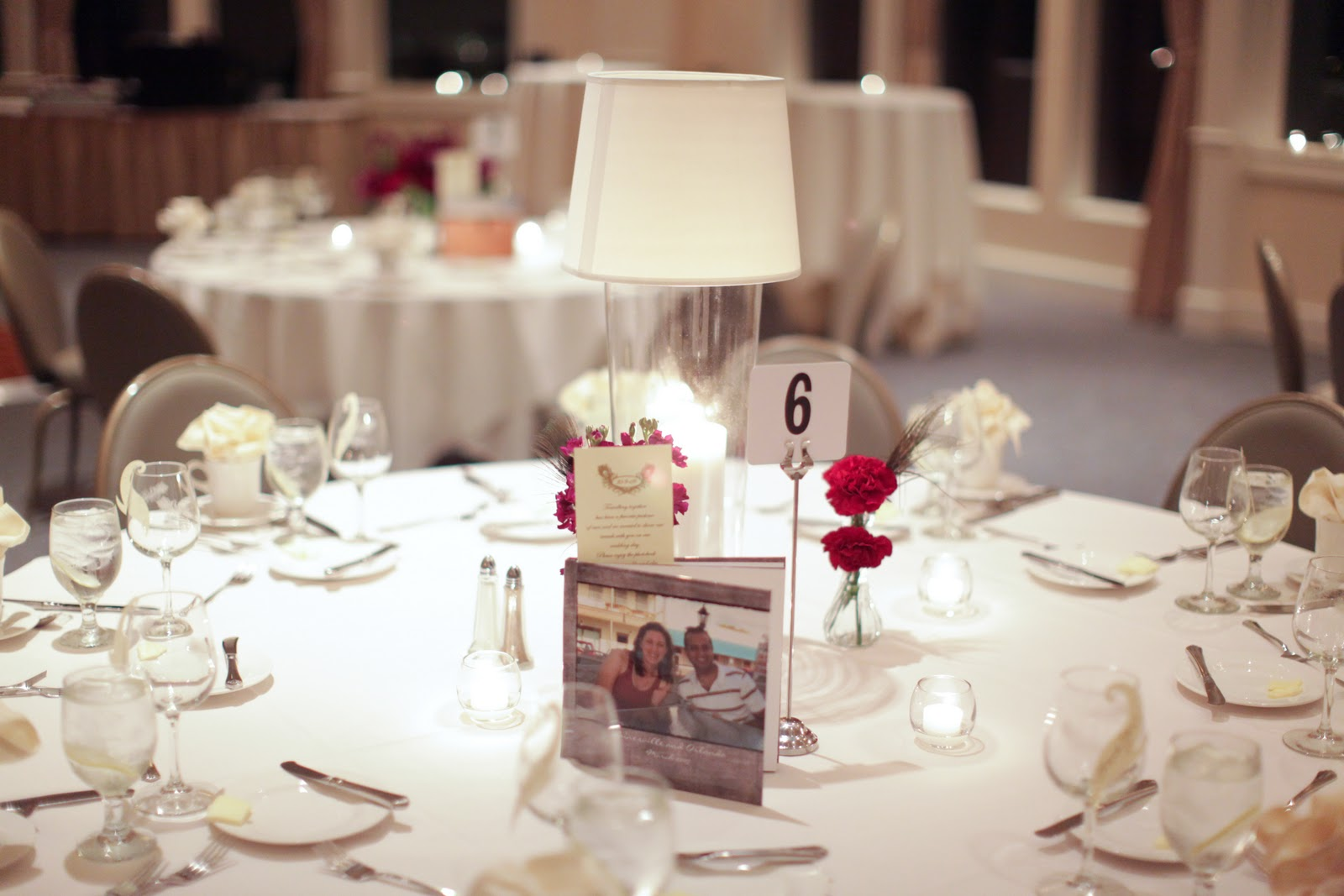 wedding table: