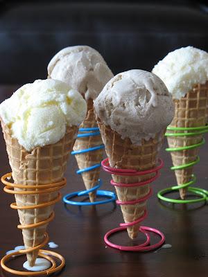Tartelette: Cheesecake or Cinnamon Ice Cream? Both?!