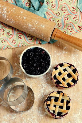 Blackberry Tartelettes-Copyright&#169;Tartelette 2008