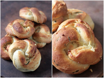 Butterhorn Garlic Knots (originally from Bon Appetit, worked on by ...