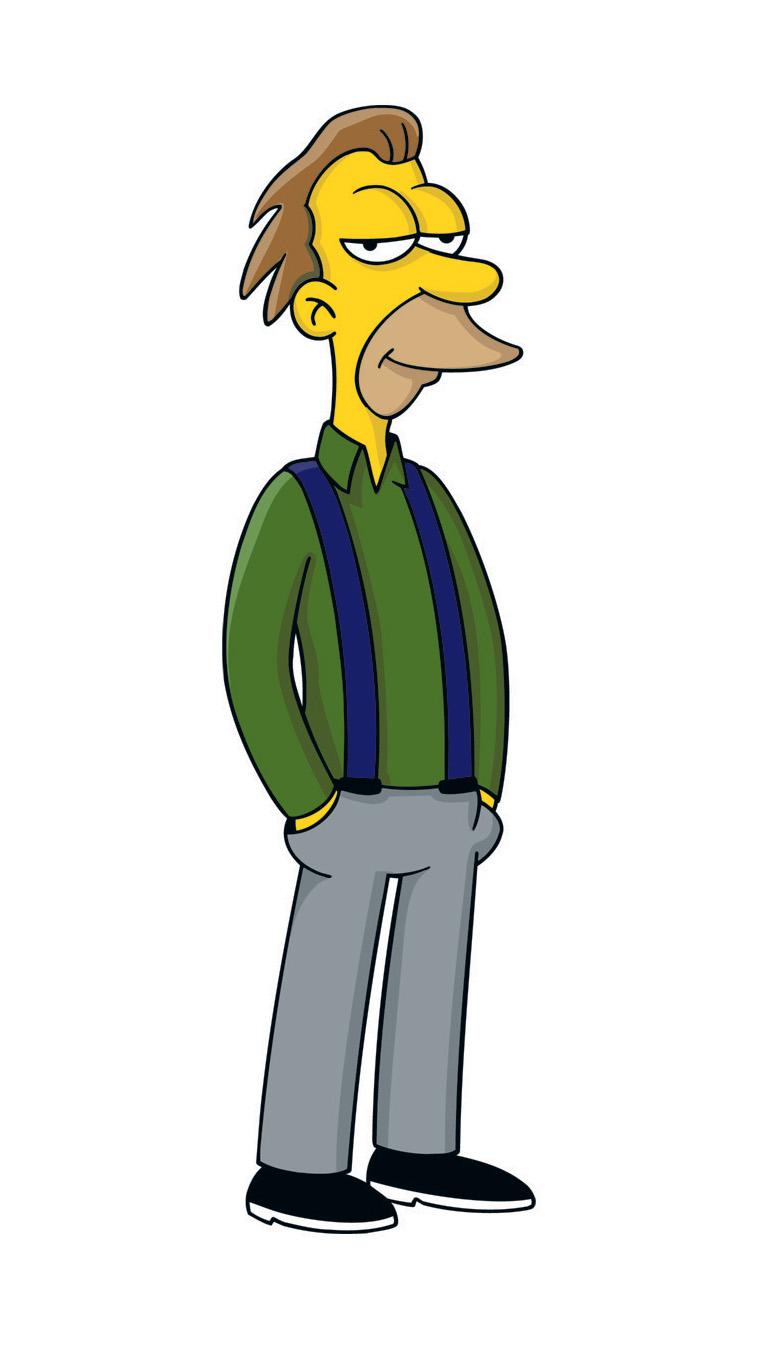 Симпсоны персонажи картинки 18 фотография