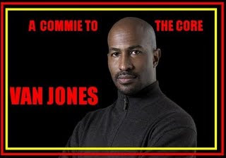van jones is a commie