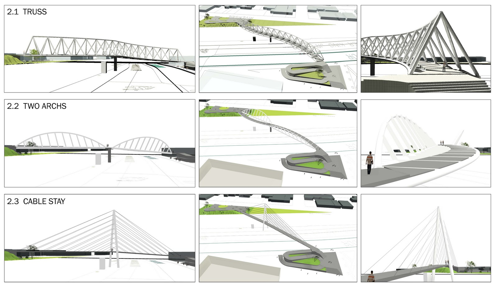Truss Bridge Designs Drawings Truss Style