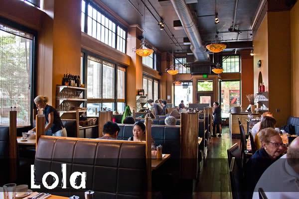 Joie de vivre an amateur gourmet 39 s guide lola a seattle for Best private dining rooms seattle