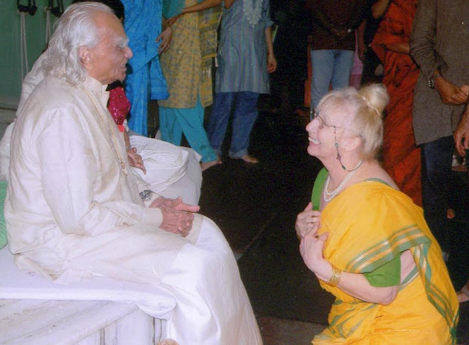 Denise and Mr. Iyengar, Pune India, 2009