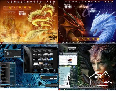 40 Best Windows 7 Theme Collection