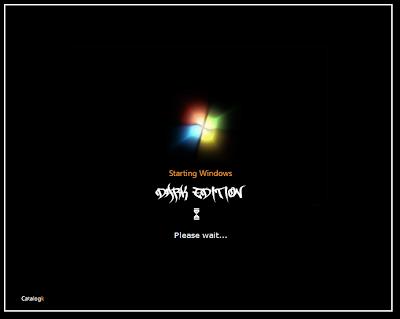 Windows XP SP3 Dark Edition
