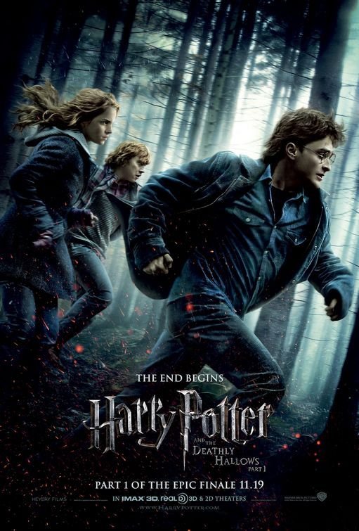 harry potter and the deathly hallows part 1 2010 bluray. harry potter and the deathly