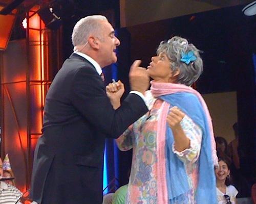 Gloria Smith con Carlos Otero