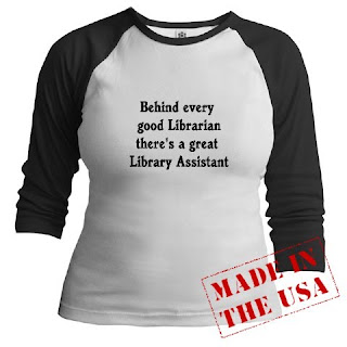 Behind every good librarian is a great library assistant