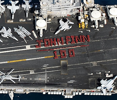 navy aircraft carrier john w finn