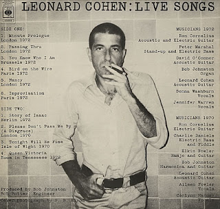 Global rock legends of the 39 60s and 39 70s leonard cohen for Leonard cohen music videos