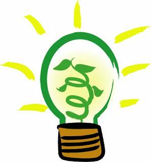Green Light Bulb, Going Green In Iowa City