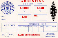 QSL RADIO CLUB CORDOBA