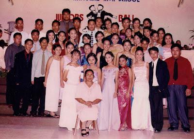 junior high school ball, tagum national high school, section acacia