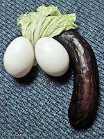 eggplant, talong, itlog, eggs, lettuce, letsugas, penis