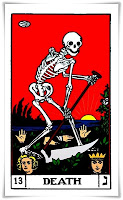 death card, tarot card