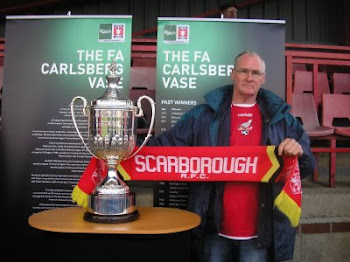 Yours truly with the FA Vase.