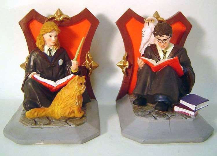 Harry Potter Bookends : Quick quotes quills harry potter bookends