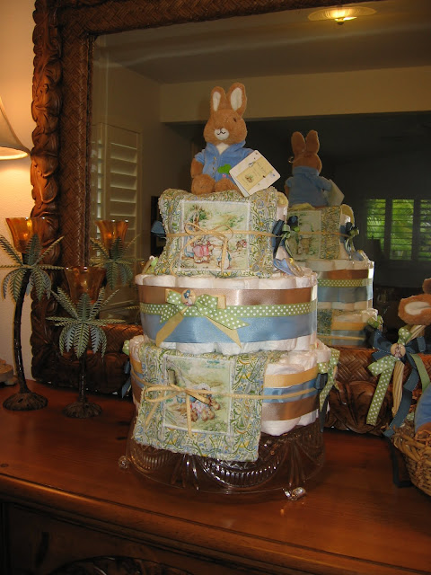 Peter Rabbit Diaper Cake The Life Of The Party