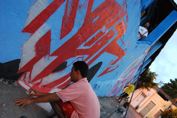 GRAFFITE NO ESPAÇO 97