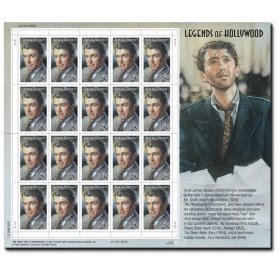 Hollywood James Stewart 2007 Pane 20 x 41 US U.S. Postage Stamps