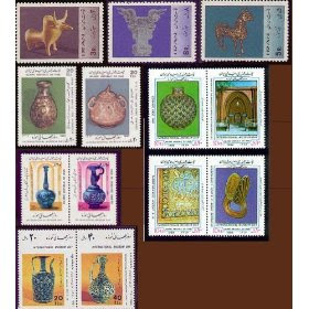 Persian Stamps International Museum Day Topicals Set of 21 MNH Issued 1967-1999