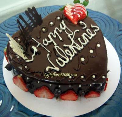 Beautiful Valentine Chocolate Cakes