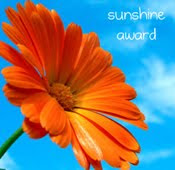 Bellissima's Blog Wins the Sunshine Blog Award