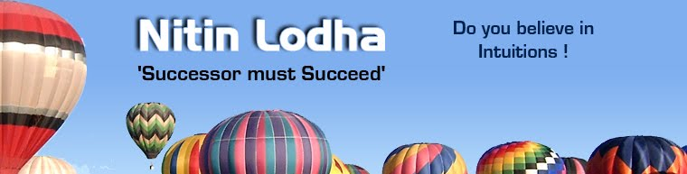 Nitin Lodha - 'Successor must Succeed'