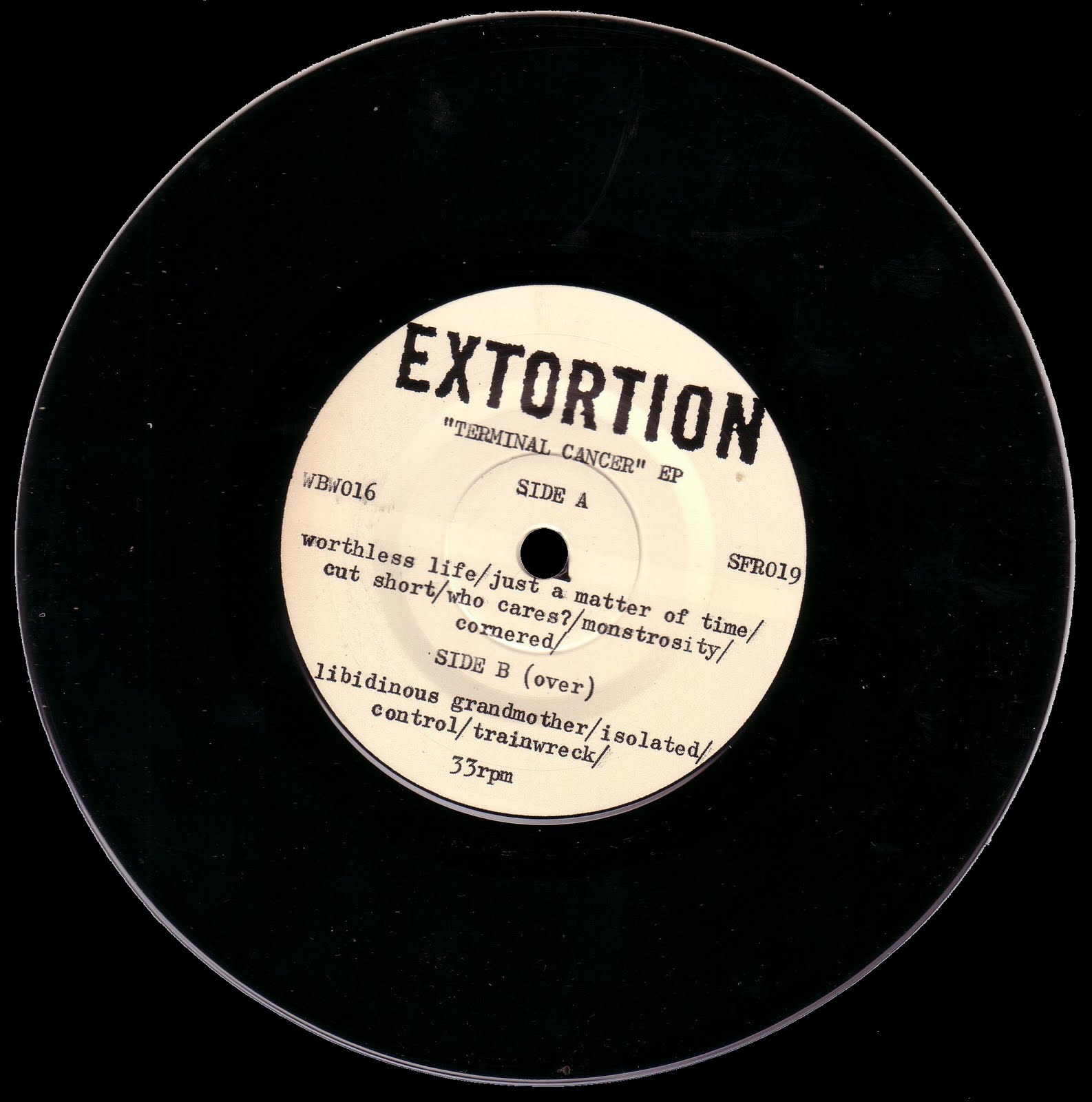 Extortion - Terminal Cancer
