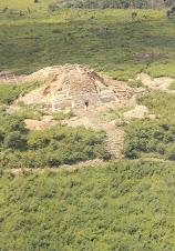 Una pirámide de Oxkintok