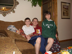 My three sons Dec. 2007