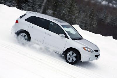 2009 Acura RDX side