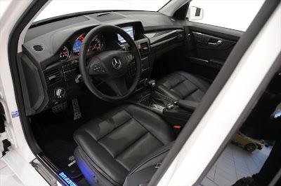 2009 BRABUS Mercedes-Benz GLK V8 interior