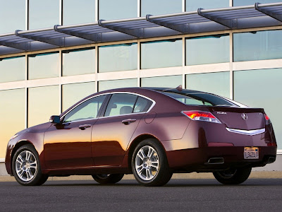 2009 Acura TL rear