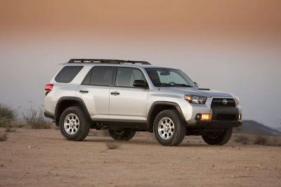 2010 Toyota 4Runner side