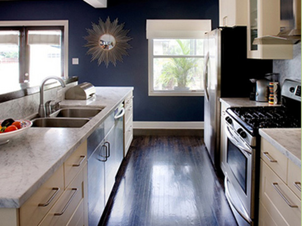 The Granite Gurus Navy Blue Kitchens