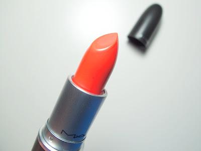 natacha romano orange lips #2: mac neon orange lipstick1