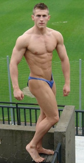 Spande Studs Hot Boys In Lycra Muscle And Speedos